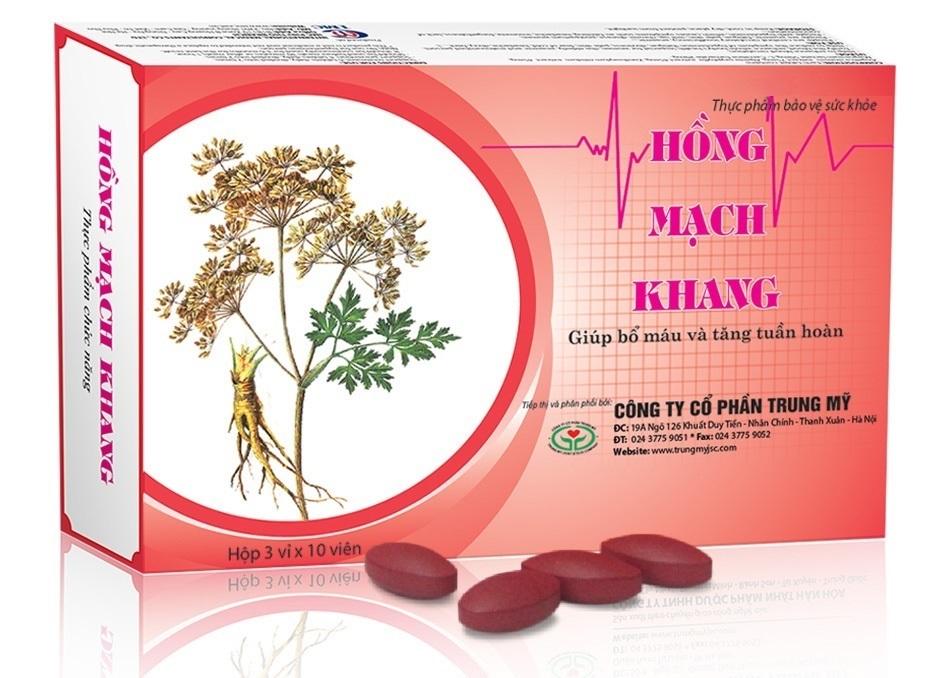 Tpcn Hồng Mạch Khang – giải pháp cho người huyết áp thấp, thiếu máu não